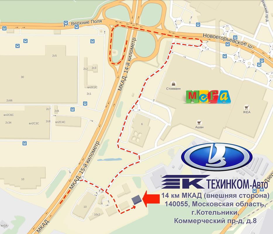 автосалоны на 18 км мкад